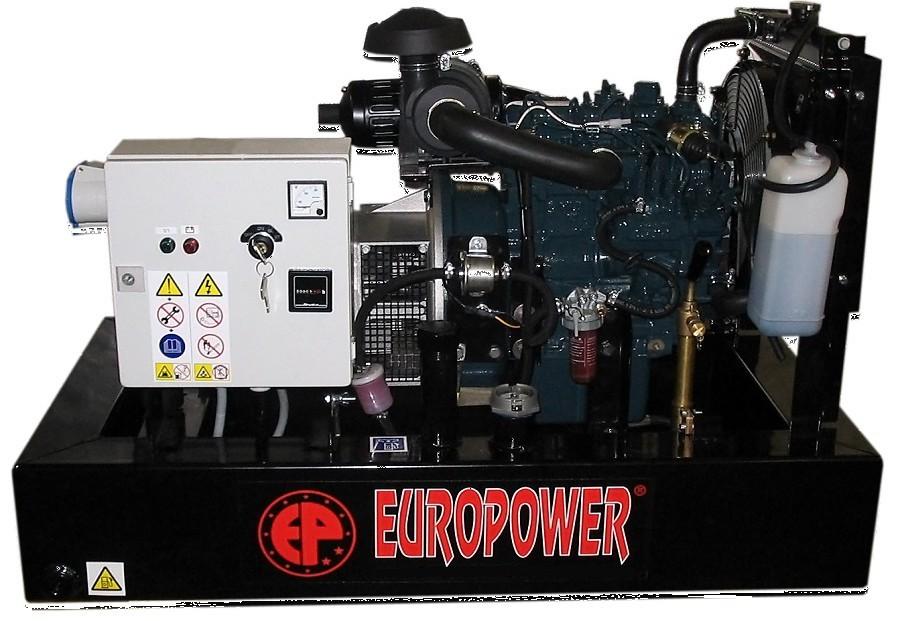 Генератор дизельный Europower EP 30 DE в Хвалынске