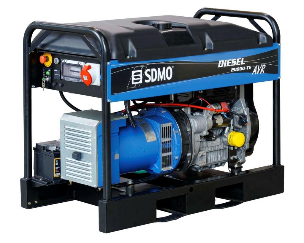 Генератор SDMO DIESEL 20000 TE XL AVR C в Хвалынске