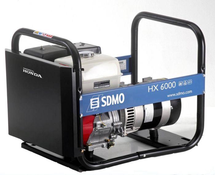Генератор SDMO HX 6000-S в Хвалынске